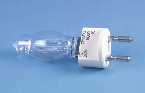 GE CP40 240V/1000W G-22 250h 3200K