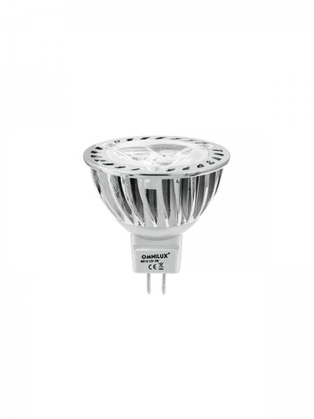 OMNILUX MR-16 12V GU-5,3 3x1W LED gelb