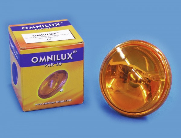 OMNILUX PAR-36 6,4V/30W G-53 VNSP orange