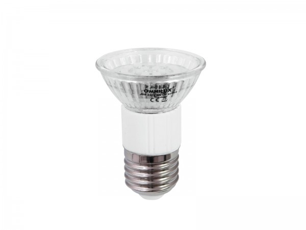 OMNILUX JDR 230V E-27 18 LED UV aktiv