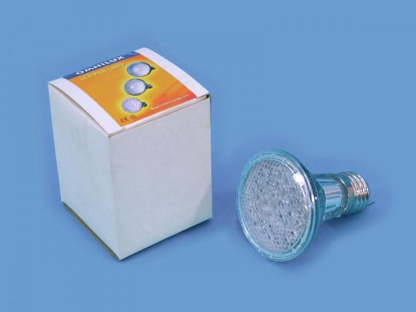 OMNILUX PAR-20 240V E-27 36 LED 5mm gelb