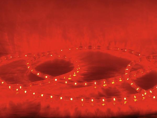 EUROLITE RUBBERLIGHT LED RL1-230V rot 44m