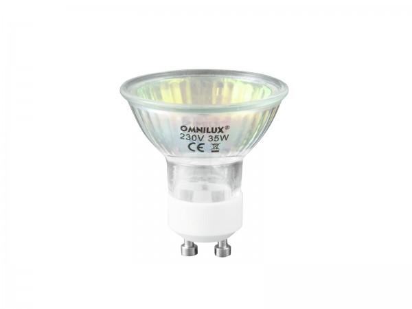 OMNILUX GU-10 230V/35W 1500h rot