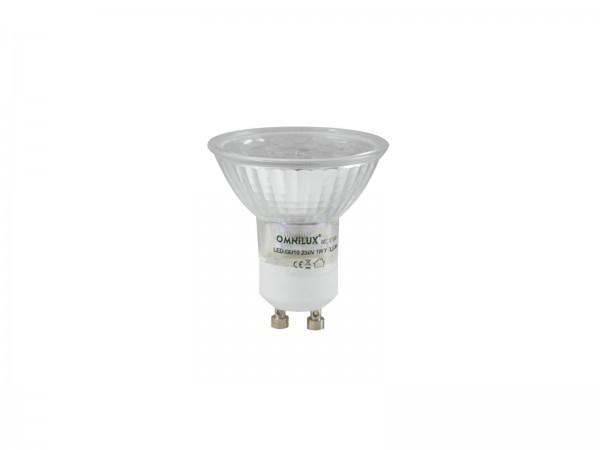 OMNILUX GU-10 230V 18 LED grün