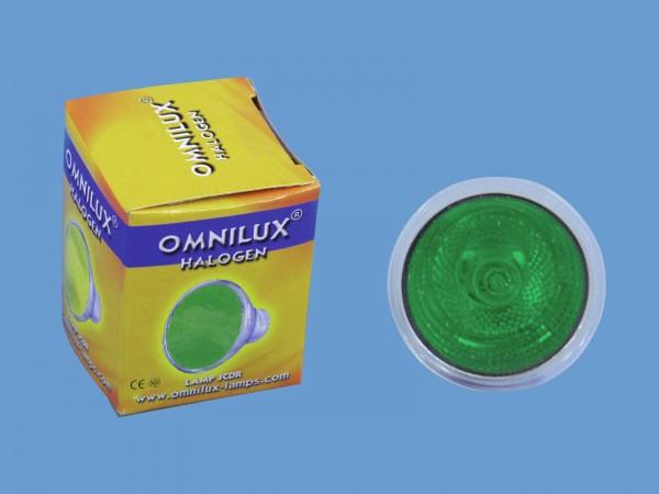OMNILUX JCDR 230V/35W GX-5,3 1500h grün