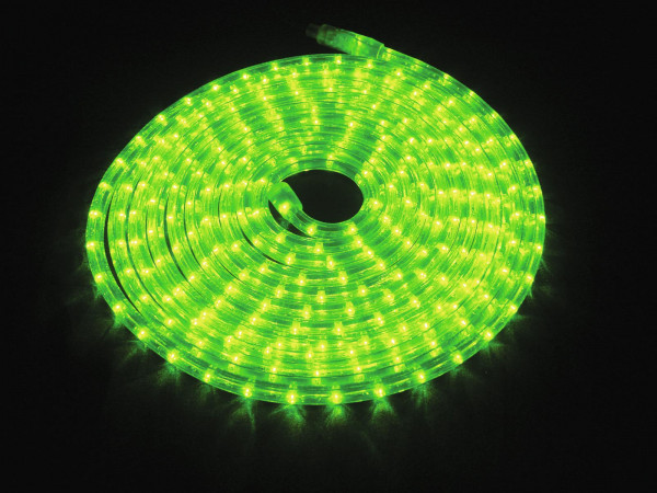 EUROLITE RUBBERLIGHT LED RL1-230V grün 9m