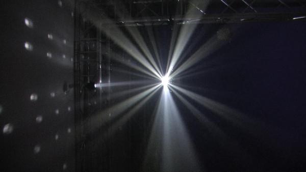EUROLITE Spiegelkugelset 20cm mit LED Spot