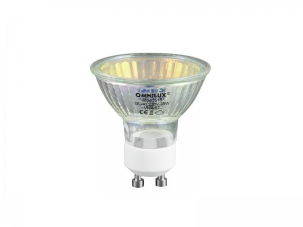 OMNILUX GU-10 230V/50W 1500h 25° violett